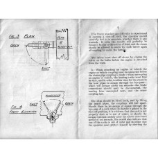 RR052 Steam Heating Instructions LNER 1927