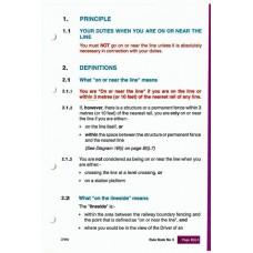 RR058 Railtrack Rule Book for Guards 1996