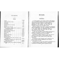 RR059  LNER Rule Book 1933
