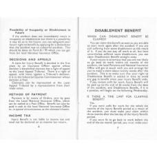 RW001  Industrial Injury Benefits 1955