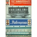 RW006   The 150th Anniversary of Passenger Railways and ... Railwaymen: N.U.R. 1975