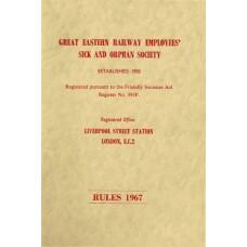 RW008   GER Employees' Sick and Orphan Society Handbook, 1967