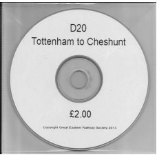 D20.CD Railways from Tottenham to Cheshunt