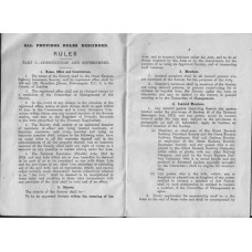 RR030 Rules of the GER Insurance Society and the GER Savings Bank
