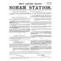 SG040  Soham signalling instructions 1909