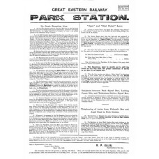 SG043 Park signalling instructions 1909