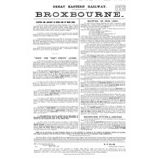 SG047 Broxbourne signalling instructions 1908