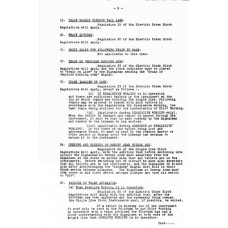 SG067:  Berney Arms Permissive Working, LNER 1936.