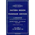 TP023 Timetables for selected ER branches, Summer 1960