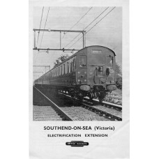 TP026 Timetables for the new Southend Electric Services 1956