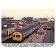 TRO.CD  The Re-Modelling of Norwich Station 1985-1987