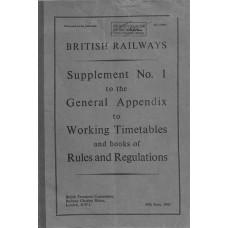 TW047  Supplement No.1 to the BR WTT Appendix