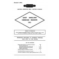 TW049  Special Workings for the Herring Season 1951