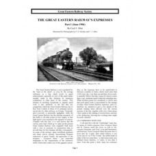 TO003:  The GER Expresses 1906
