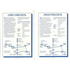 TP021 Timetables during the re-modelling of Ely station 1992