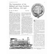 LM056:  Locomotives of the M&GN Joint Railway 1877-1936.