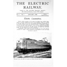 TER.DL: 'The Electric Railway' Vols. 1 to 4, 1946 to 1949.