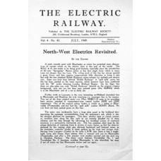 MG010: 'The Electric Railway' Volume 4, 1949.