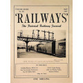 MG014:  'Railways' - all twelve issues for 1947.