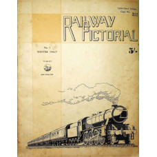 MG015:  'Railway Pictorial' - all three issues produced, 1946-1947.