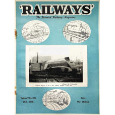 MG017:  'Railways' - all twelve issues for 1948.