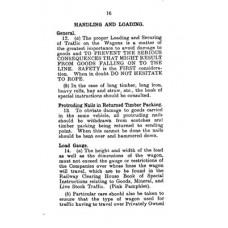 RC053:  Handbook on Handling and Loading of General Merchandise, LNER 1939.