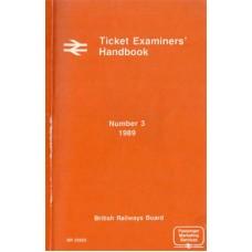 RC055:  BR Ticket Examiners' Handbook 1989.