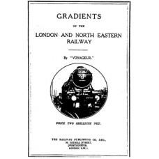 RE001 Gradients of the LNER c1930