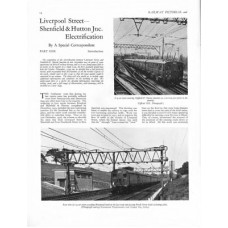 RE051:  The Liverpool Street to Shenfield Electrification, 1949.