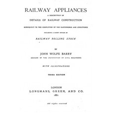 RE053:  Textbook of Railway Appliances, 1881.
