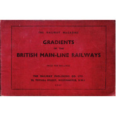 RE055:  Gradients of the Railways of Britain, 1947.