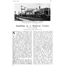 RG034  Spalding as a railway centre, 1934.