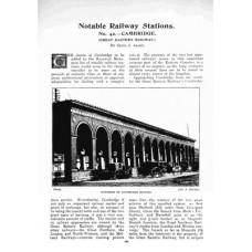 RG037:  Cambridge as a railway centre, 1908-1935.