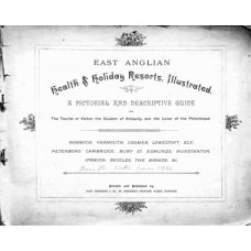 RG039:  East Anglian Health and Holiday Resorts Illustrated, c.1896.