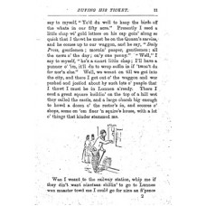 RH088:  Giles's Trip to London 1871, extracts.
