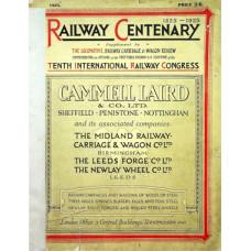 RH090:  The Railway Centenary, The Locomotive Magazine 1925.