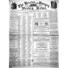 RH092:  The Beccles and Bungay Weekly News, Tuesday 9 August 1859.