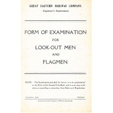 RR009:  Form of Examination for Look-Out Men and Flagmen, GER 1919.