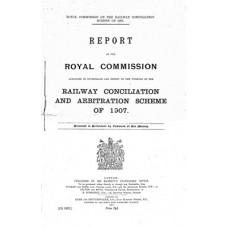 RW012:  1911 Report on the Railway Conciliation and Arbitration Scheme.