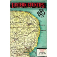 TP029:  Eastern Counties (Eastern Area) Bus Timetables, Summer 1949.