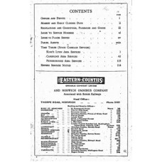 TP030:  Eastern Counties (Western Area) Bus Timetables, Summer 1949.