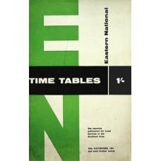 TP033:  Eastern National Bus Timetables, November 1961.