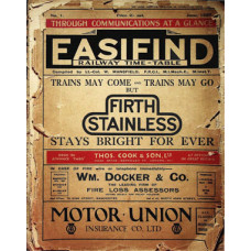 TP034:  The Easifind Railway Timetables for England and Wales, June 1927.